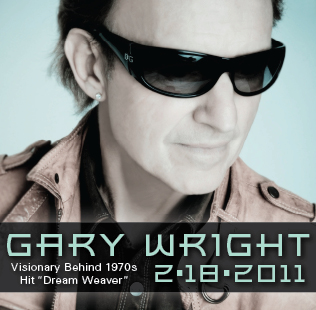 Gary Wright performs at Anthology on Friday, February 18th
