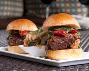 Anthology\'s Beef Short Rib Sliders - by Chef Todd Allison