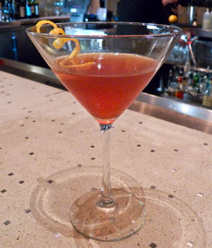 The Rhubarb Manhattan